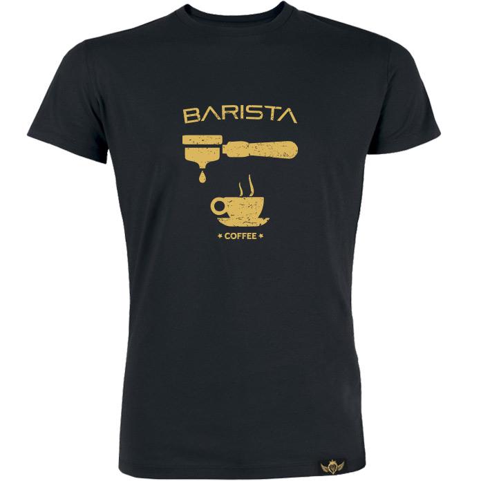 Tričko Barista Portafilter Gold